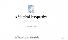 A Mumbai Perspective