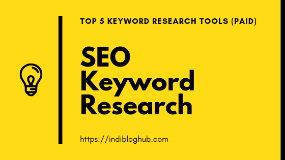 5 Best SEO Keyword Research Tools [2020]