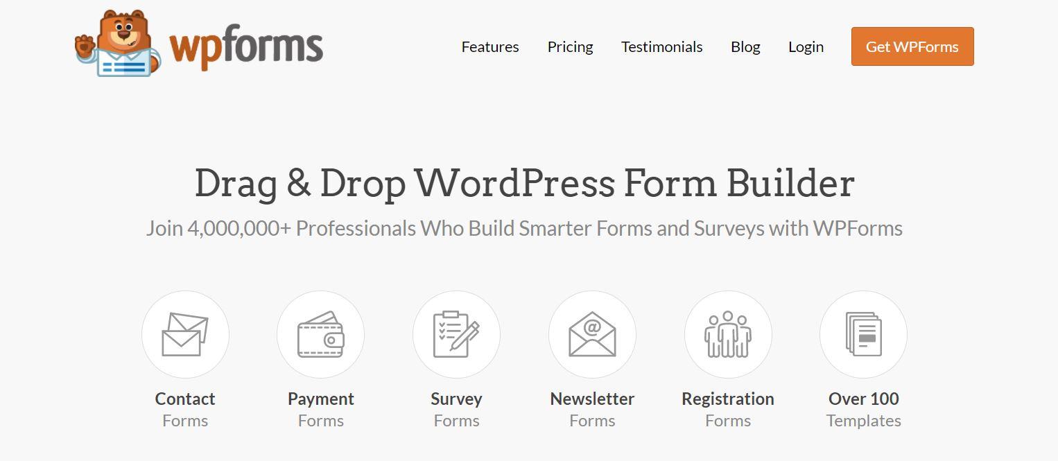 WPForms - Best WordPress Contact Form Plugin