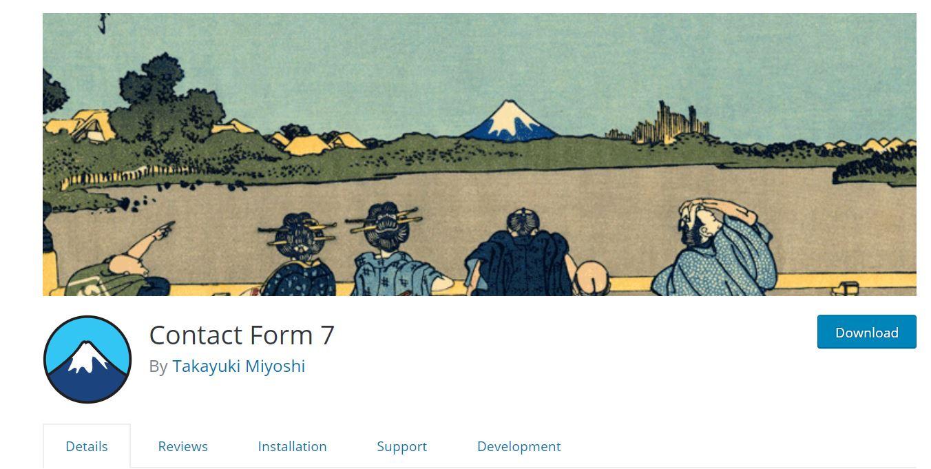 Contact form 7: WordPress Contact Form Plugin