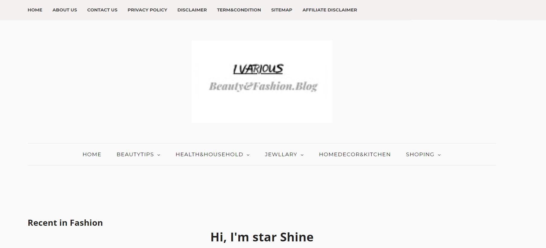 1various blog