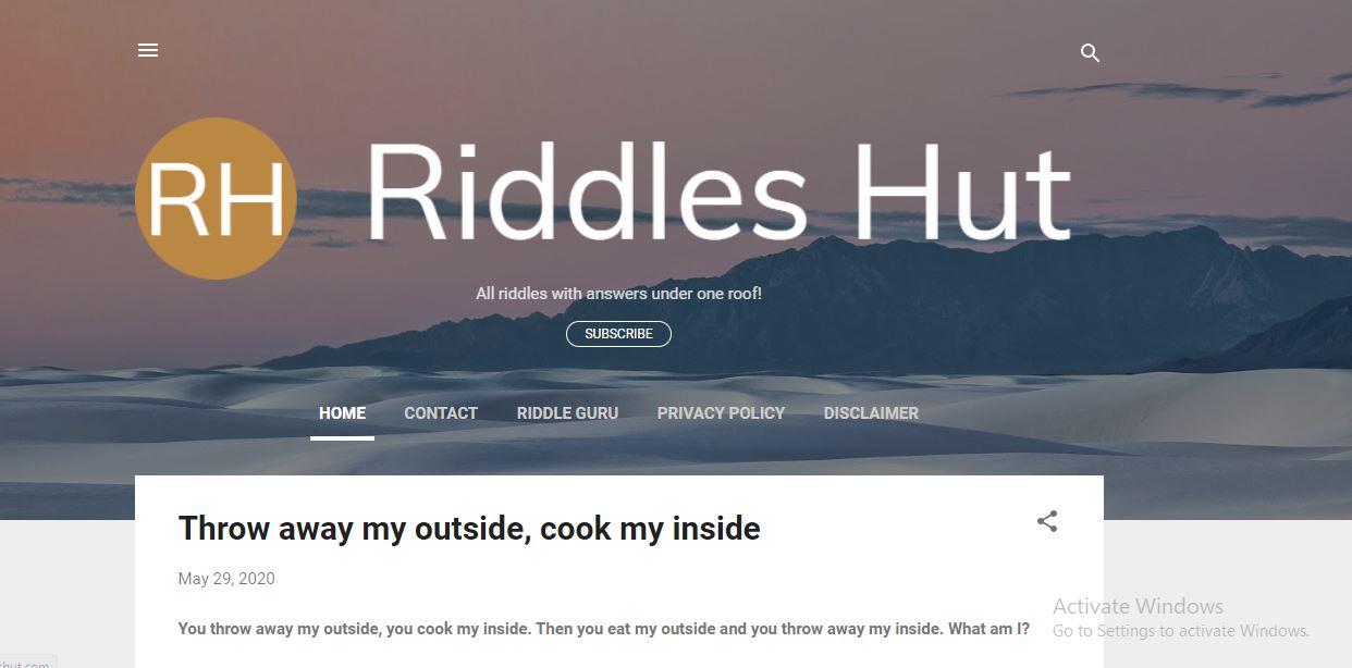 Riddles Hut