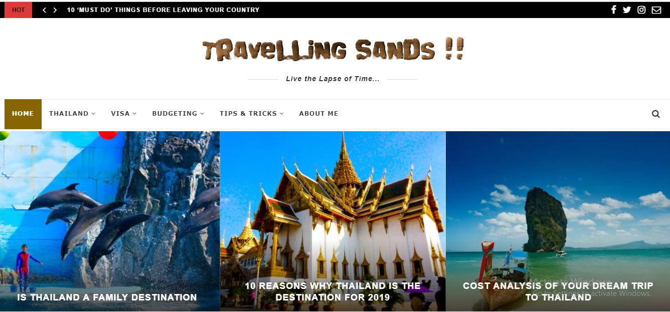 Travelling Sands