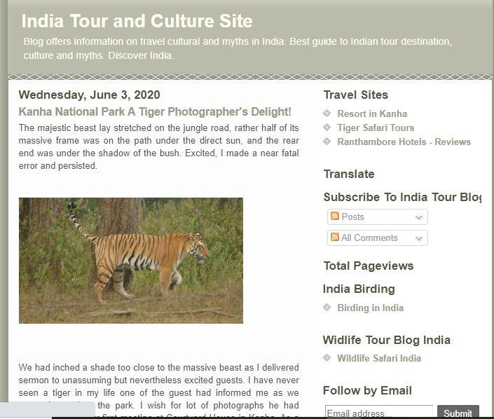 India Tour & Culture Blog