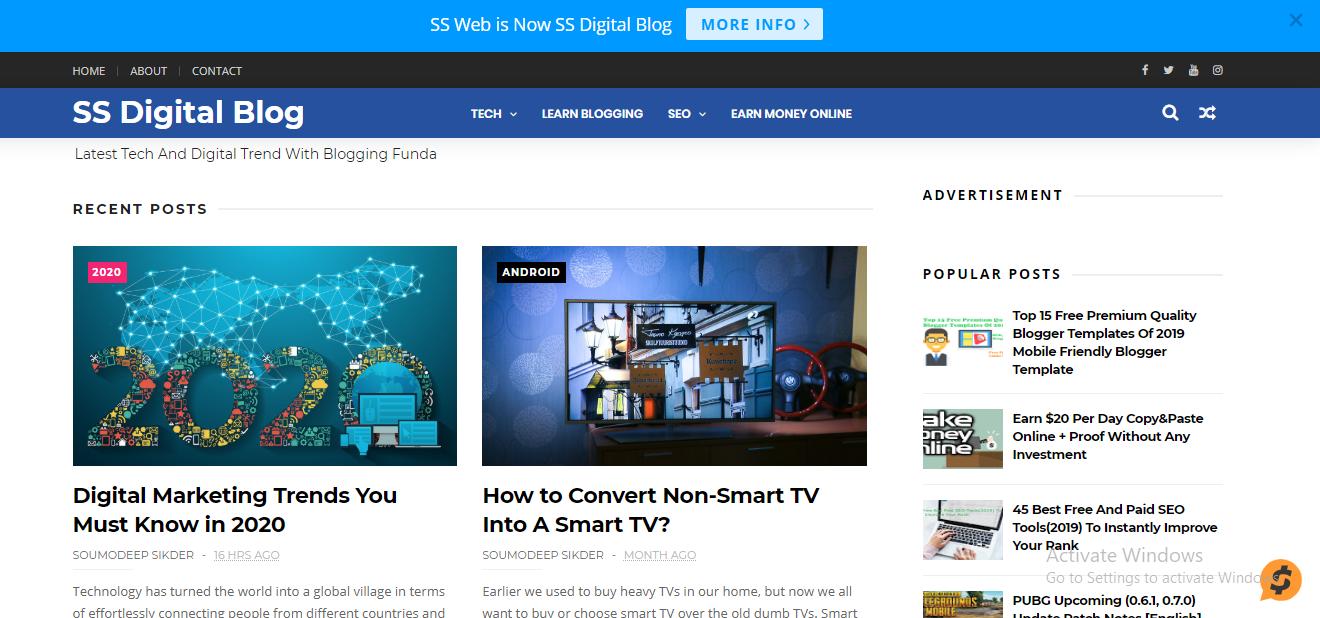 SS Digital Blog