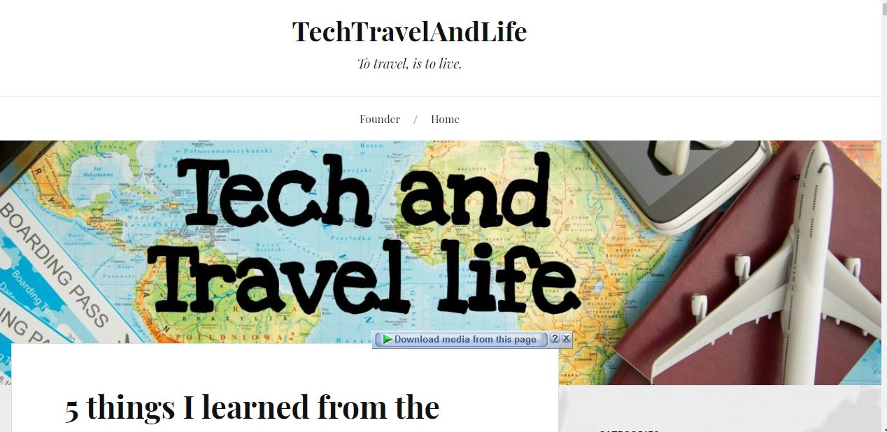 Tech Travel and Life