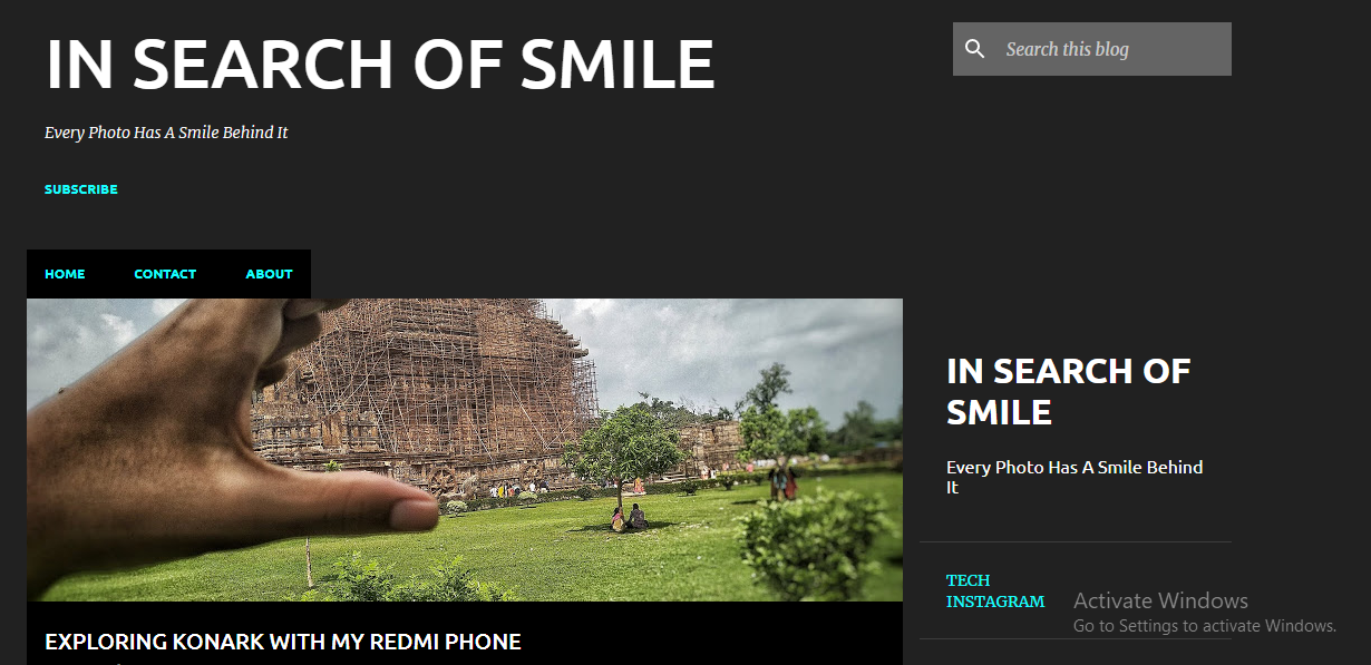 IN SEARCH OF SMILE
