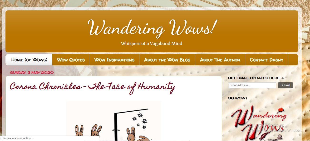 Wandering Wows