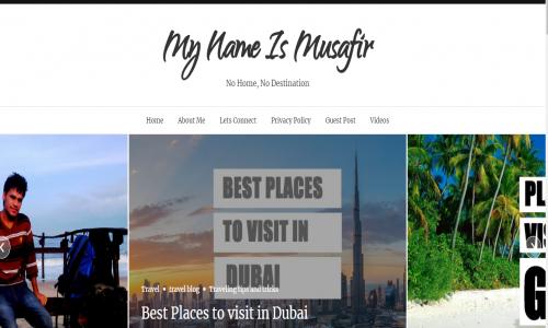 My name is Musafir