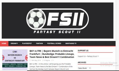Fantasy Scout 11