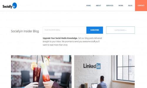 Sociallyin Insider Blog