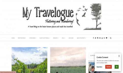 My Travelogue by Bhushavali