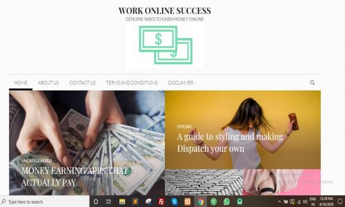 Work Online Success