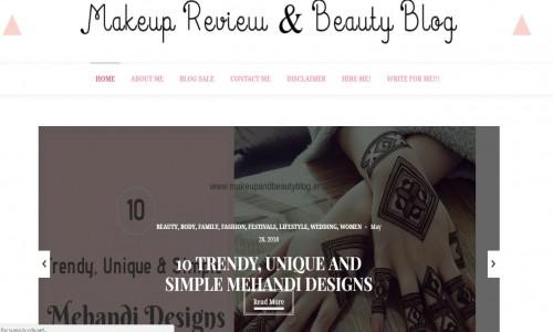 Makeup Review & Beauty Blog