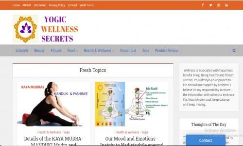 Yogic Wellness Secrets