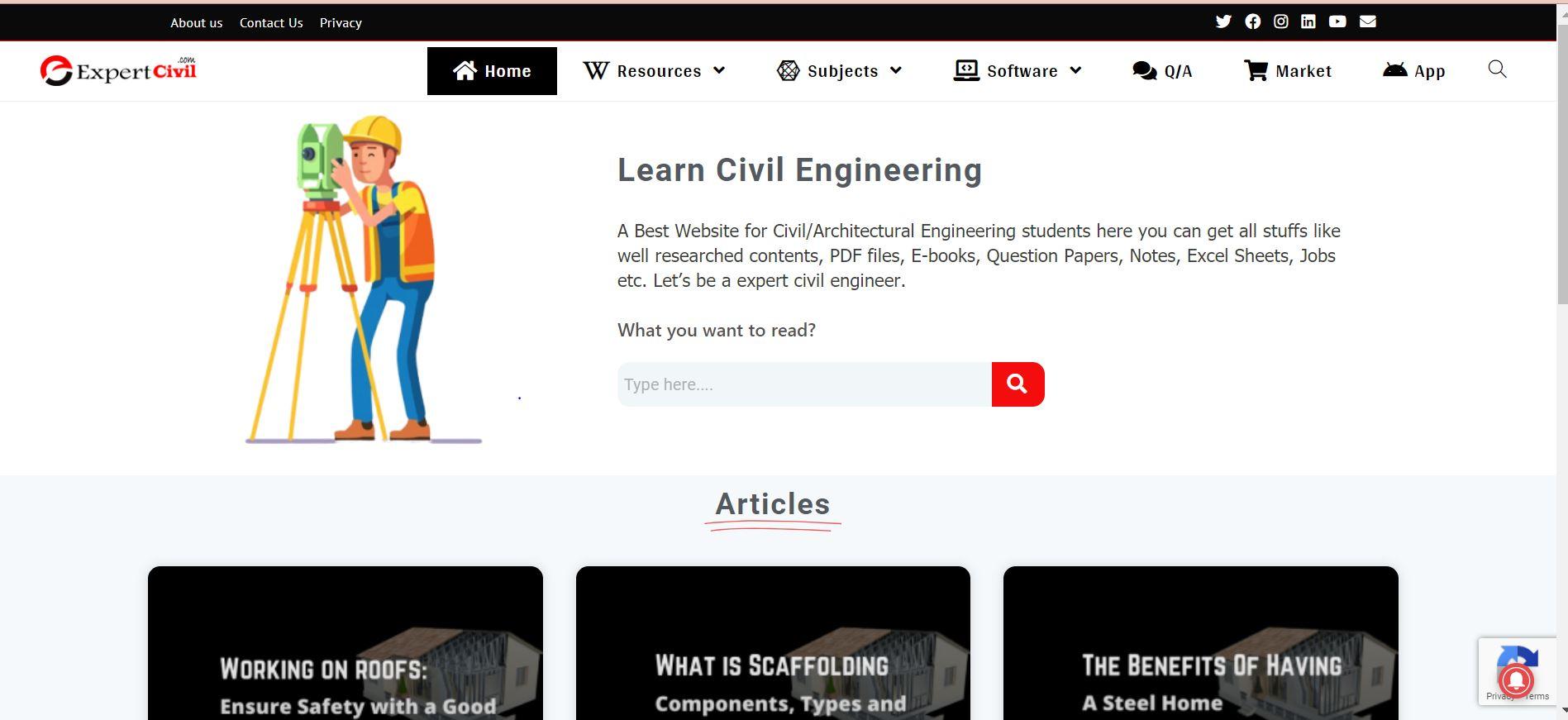 Expert Civil Engineering Blog