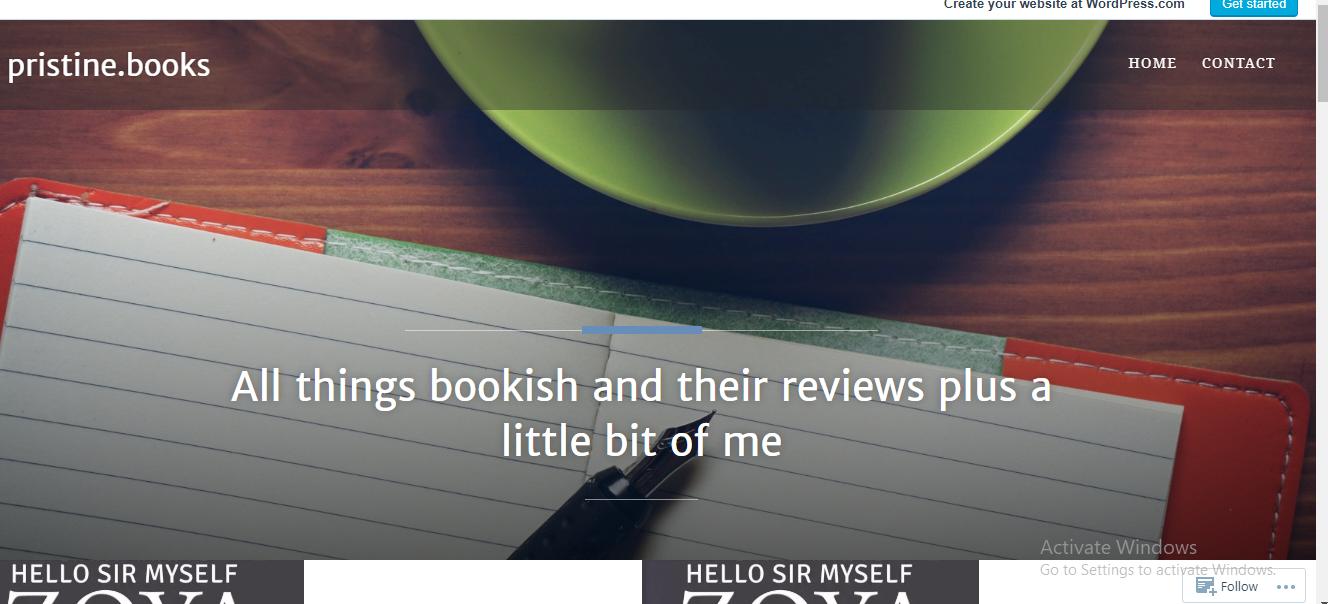 Pristine Books & Reviews