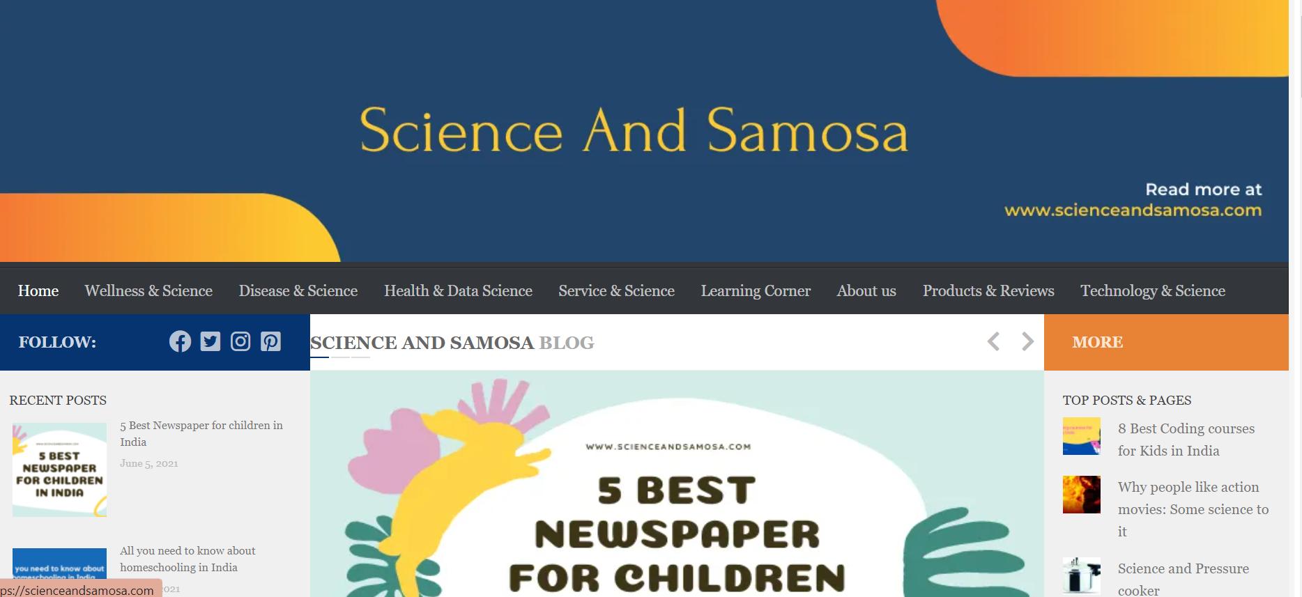 ScienceandSamosa
