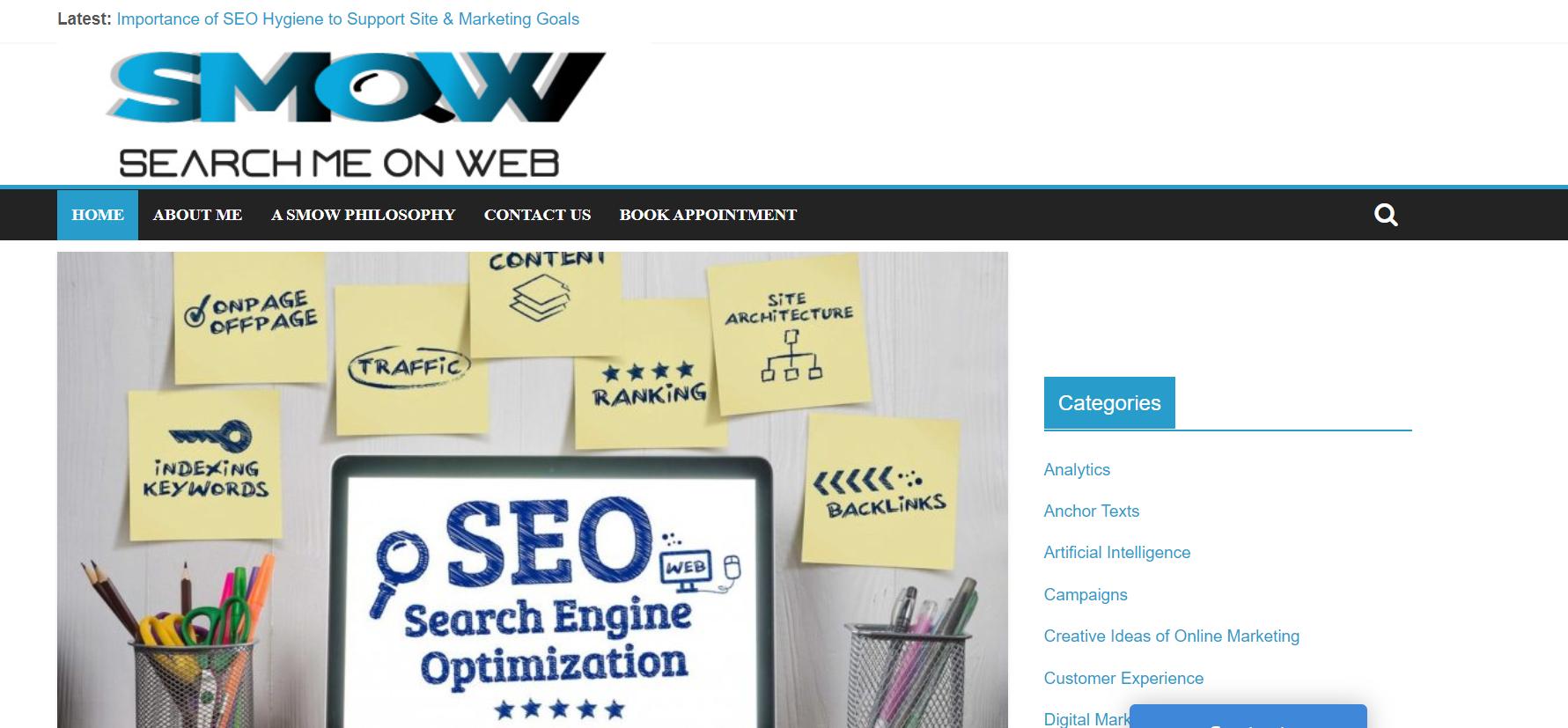 Search Me on Web