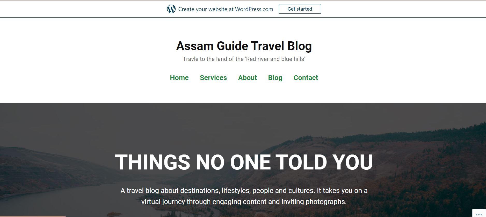 Assam Guide Travel Blog