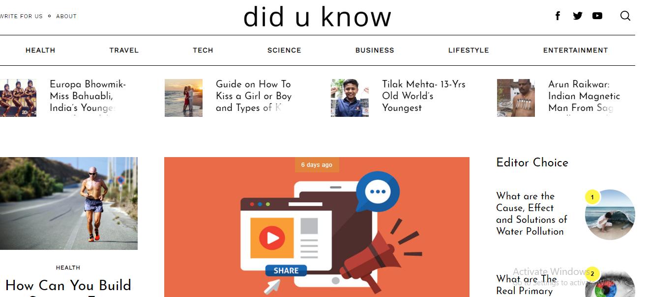 Did u Know Online