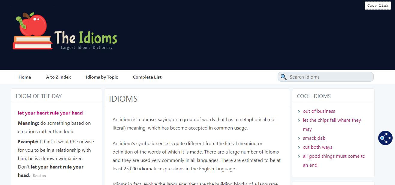 The Idioms