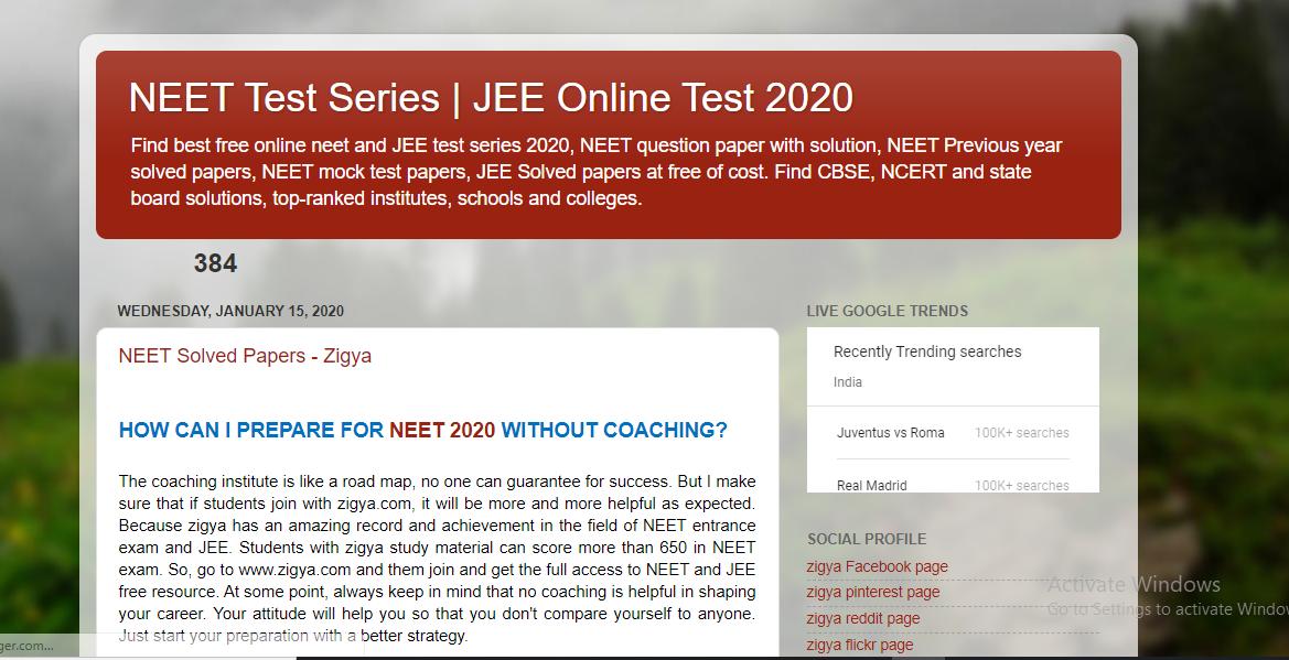 neet test series