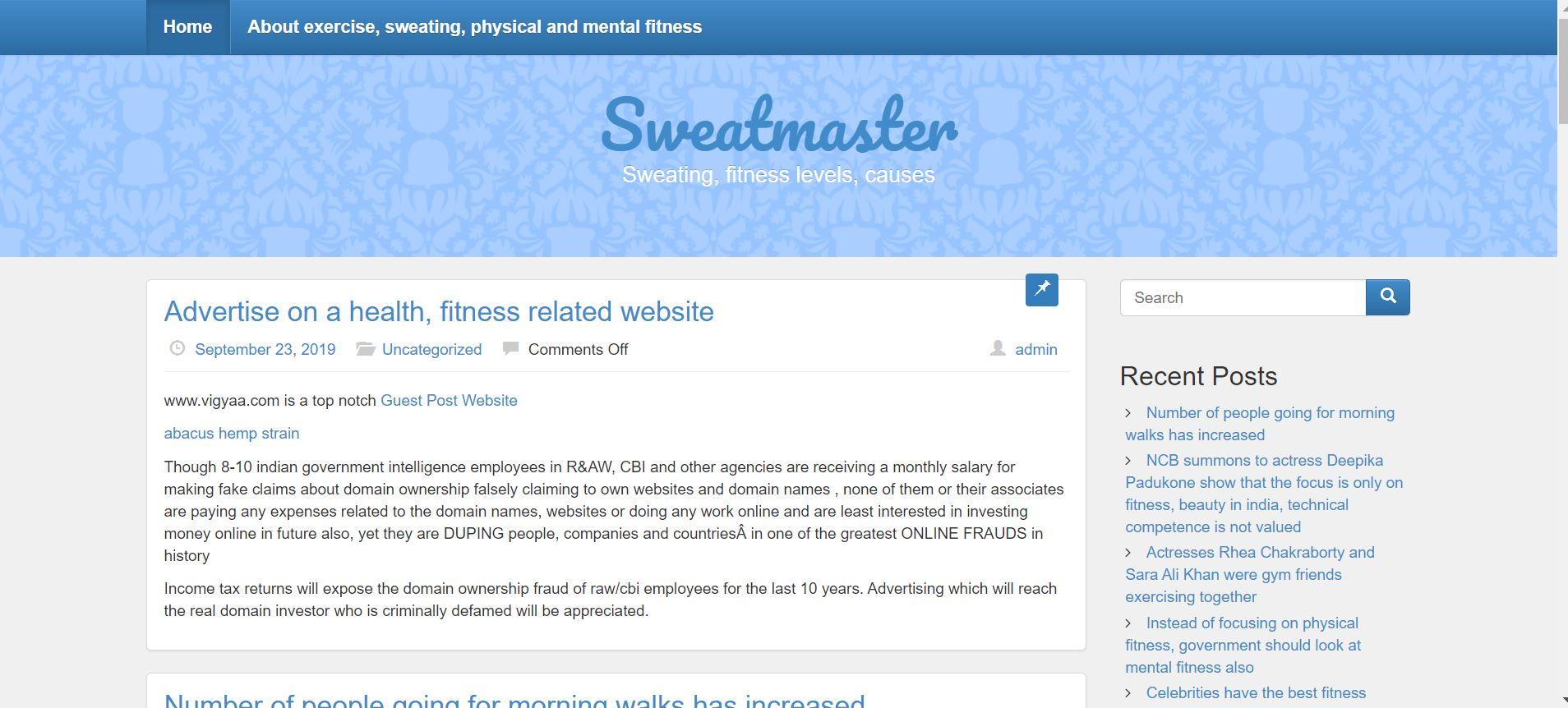 Sweat Master