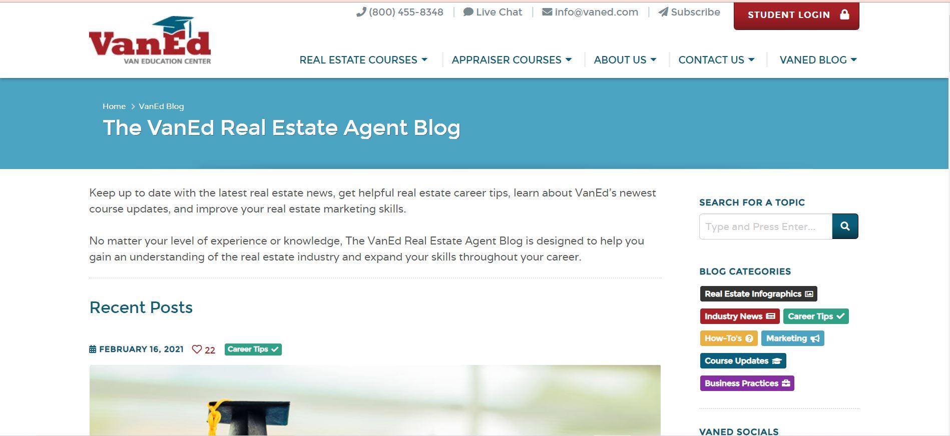 VanEd Real Estate Agent