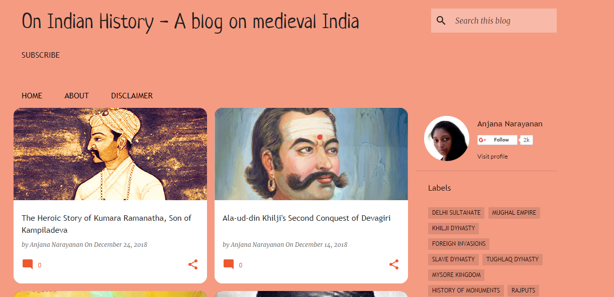 Notes on Indian History