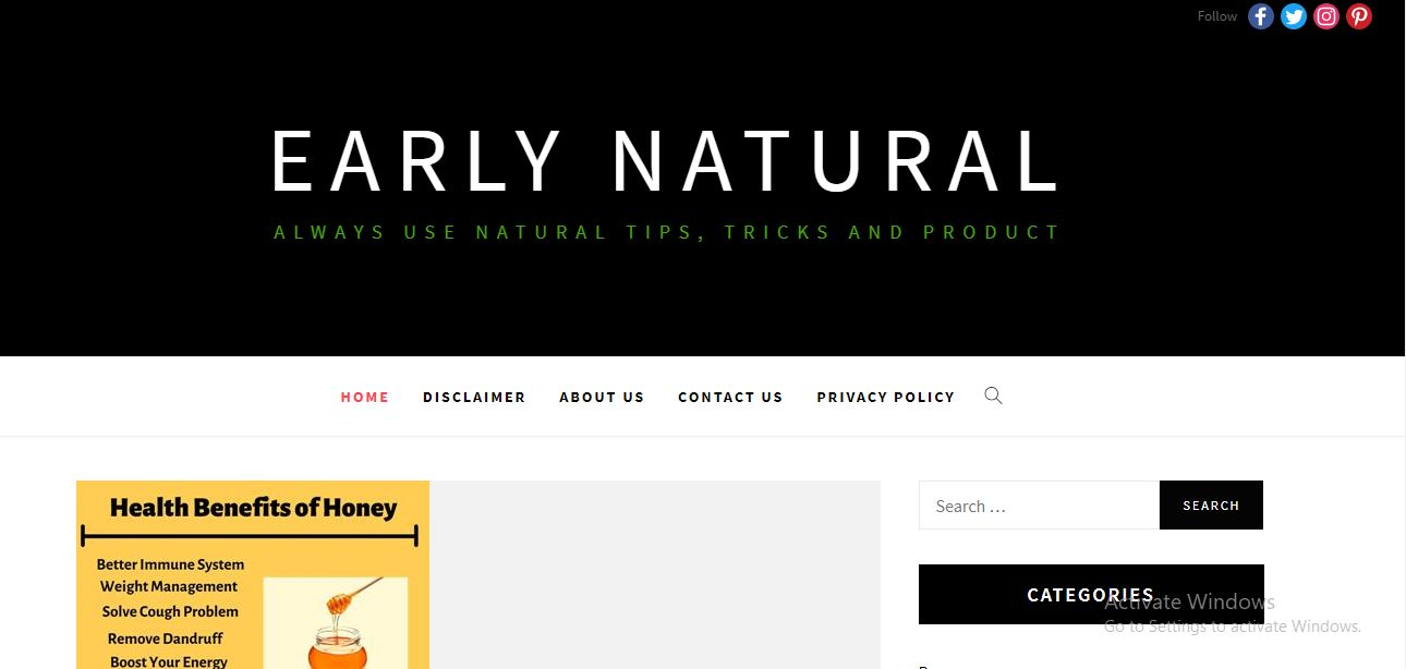 Early Natural