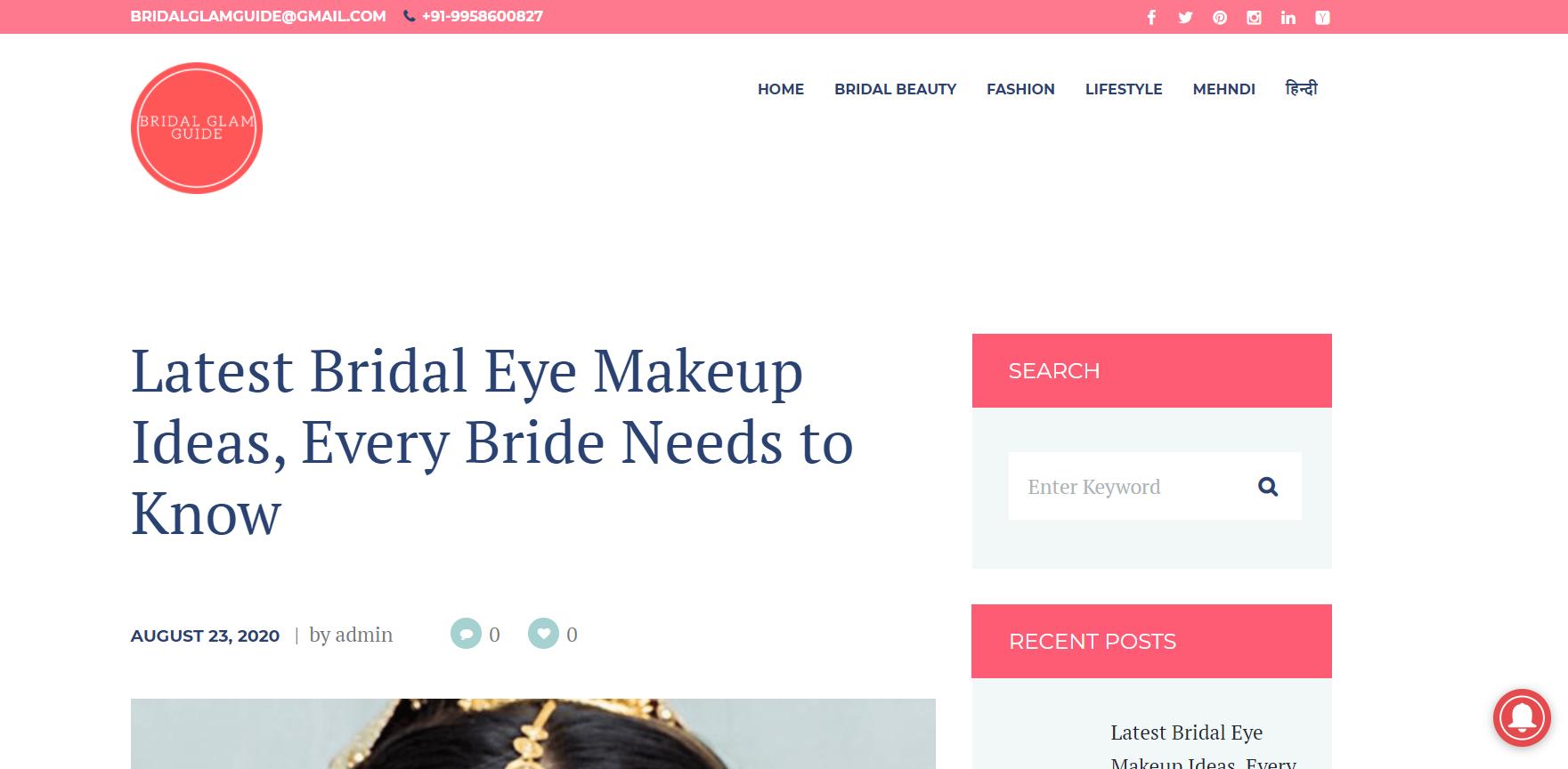 Bridal Glam Guide