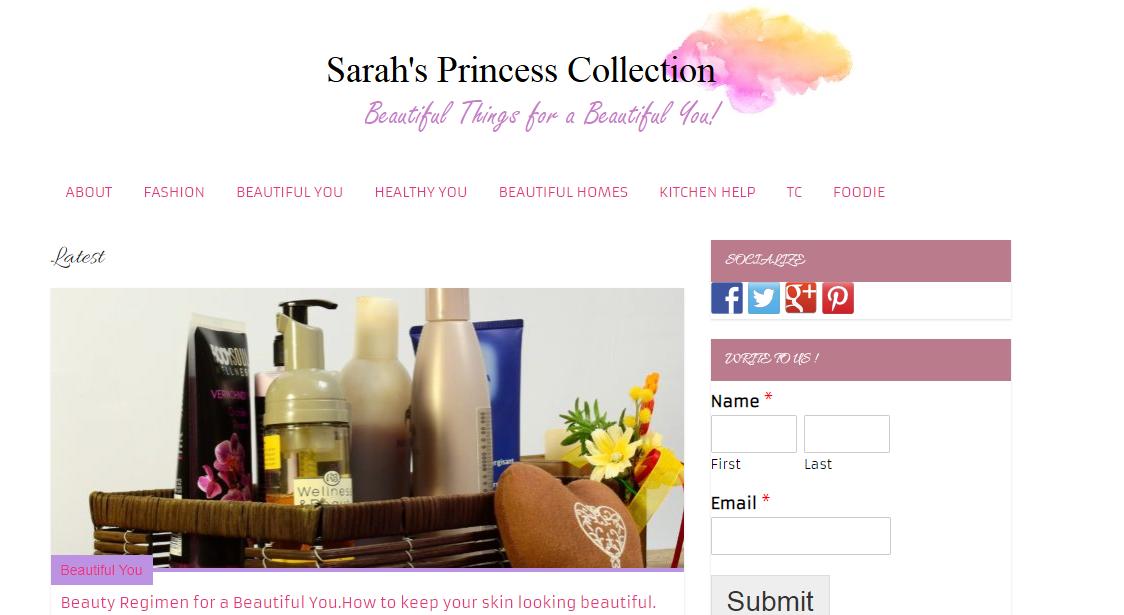 Sarah's Princess Collection