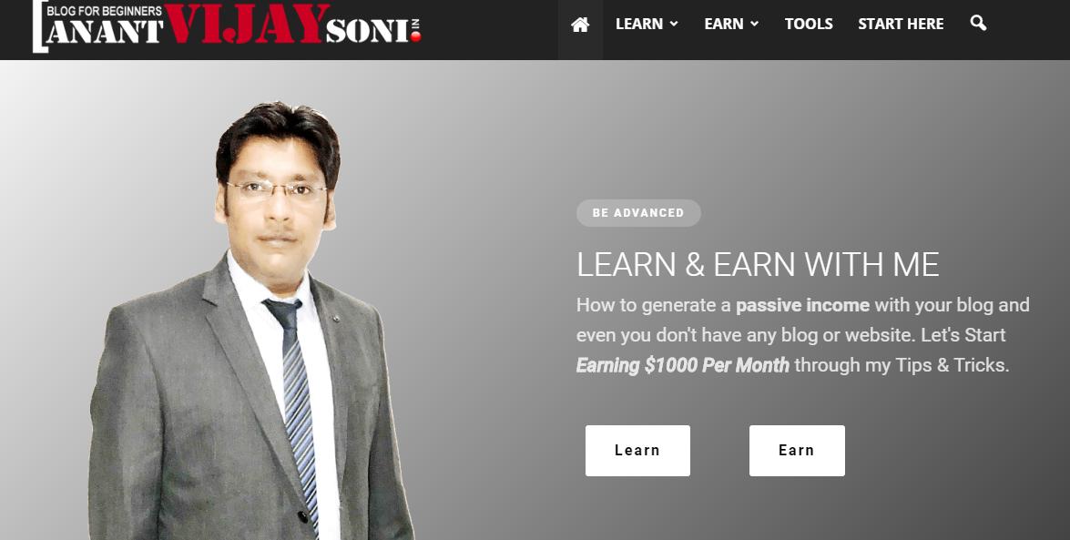 Anant Vijay Soni