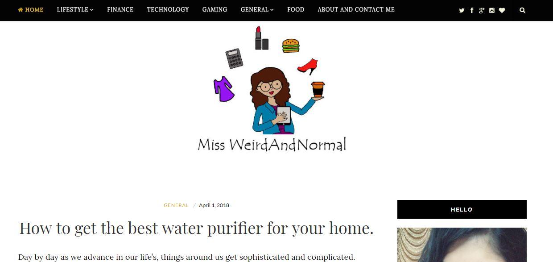 Miss WeirdAndNormal