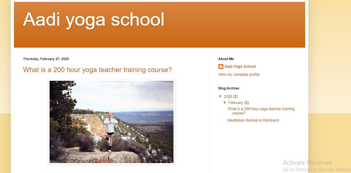 Aadi Yoga School