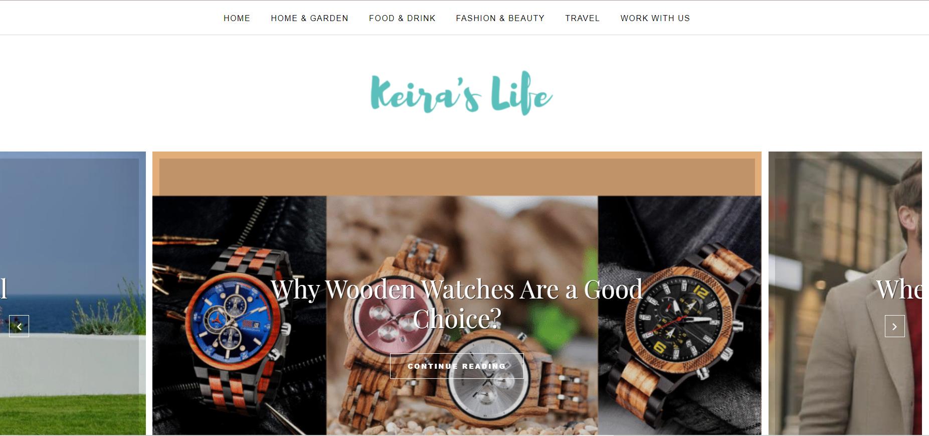 Keira's Life