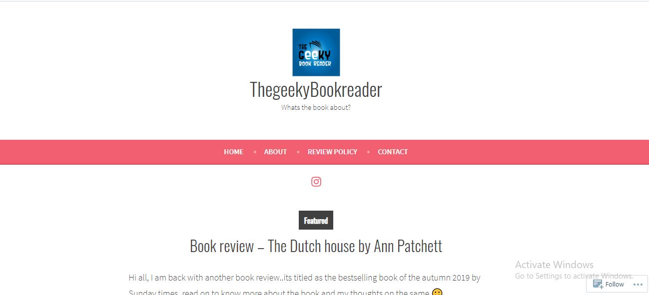 thegeekybookreader