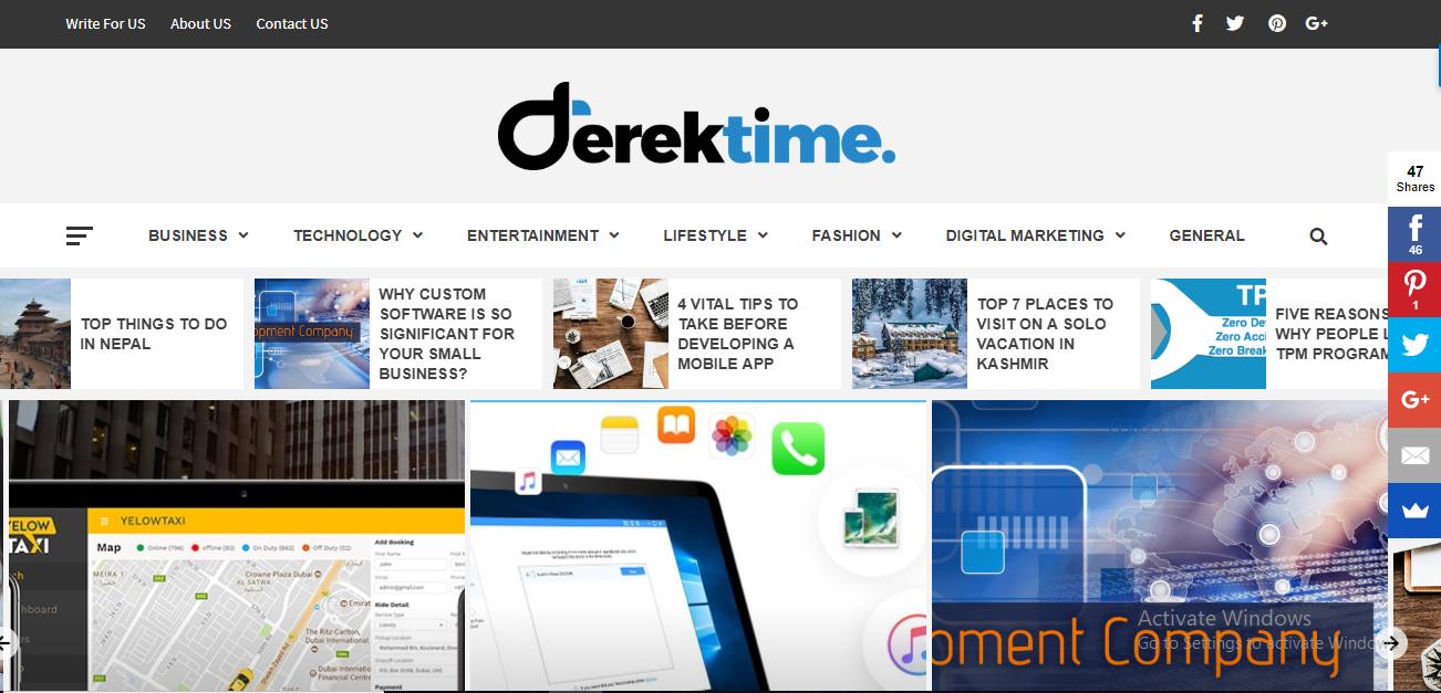 Derek Time