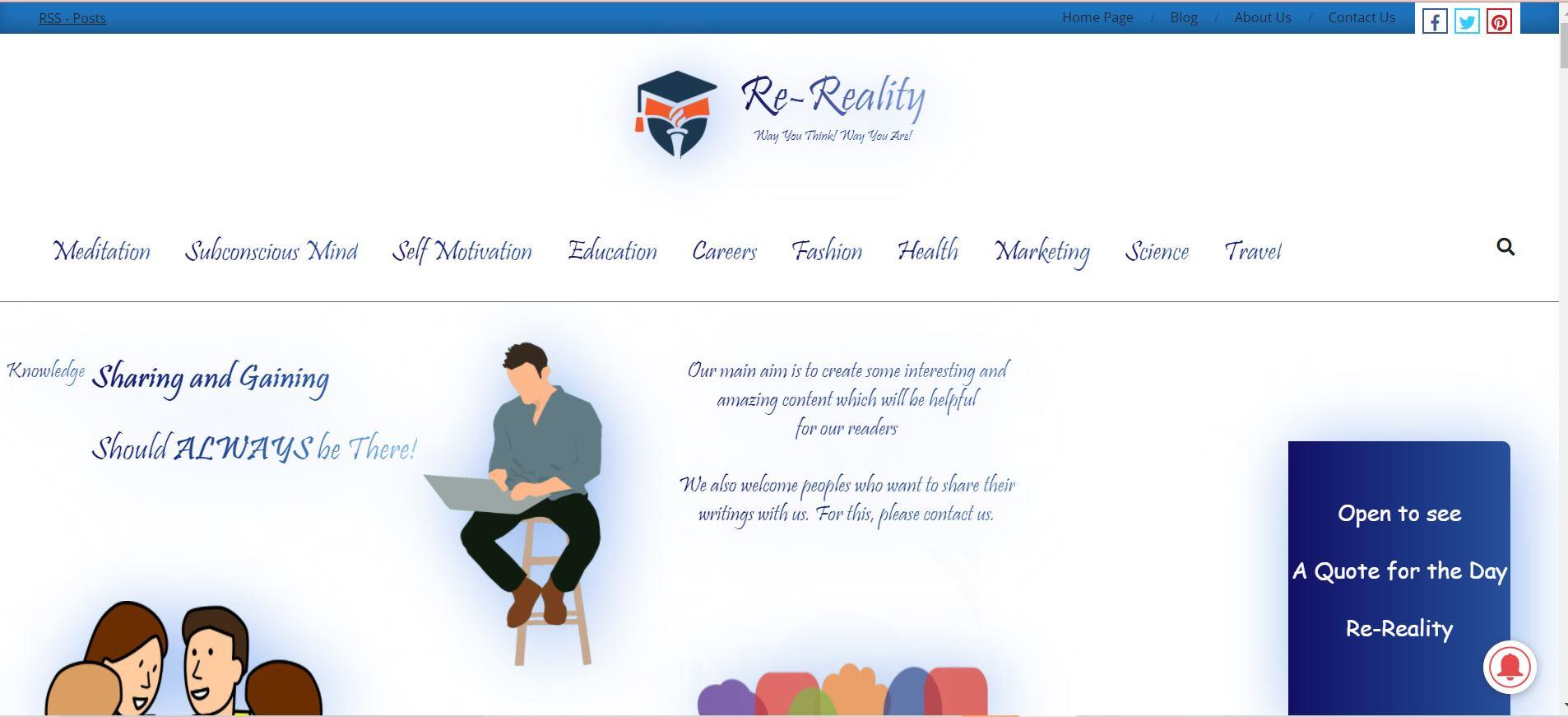 Re-Reality