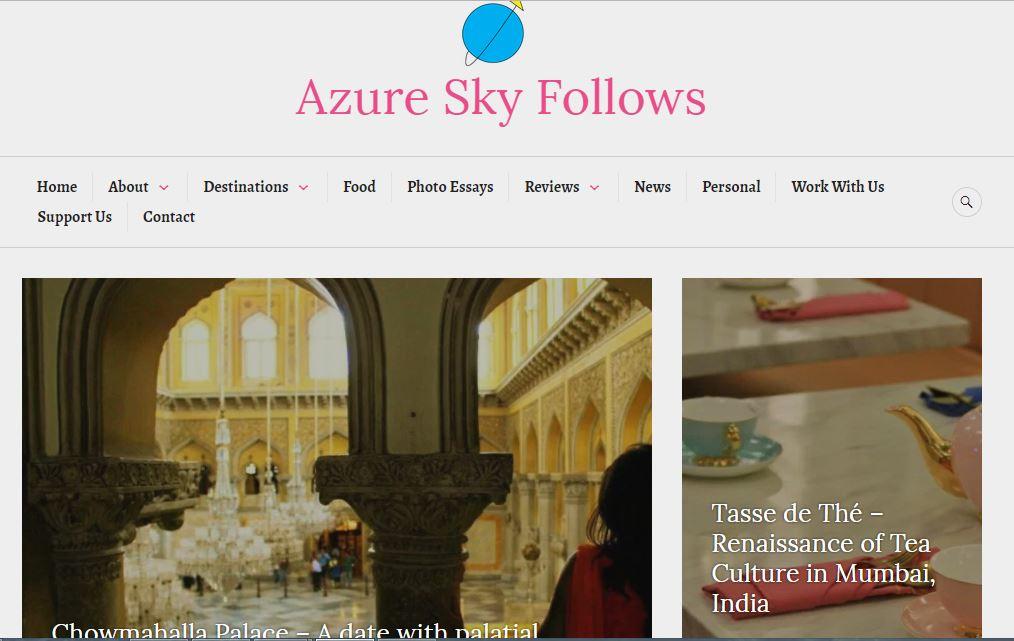 Azure Sky Follows