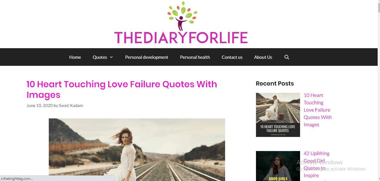 Thediaryforlife