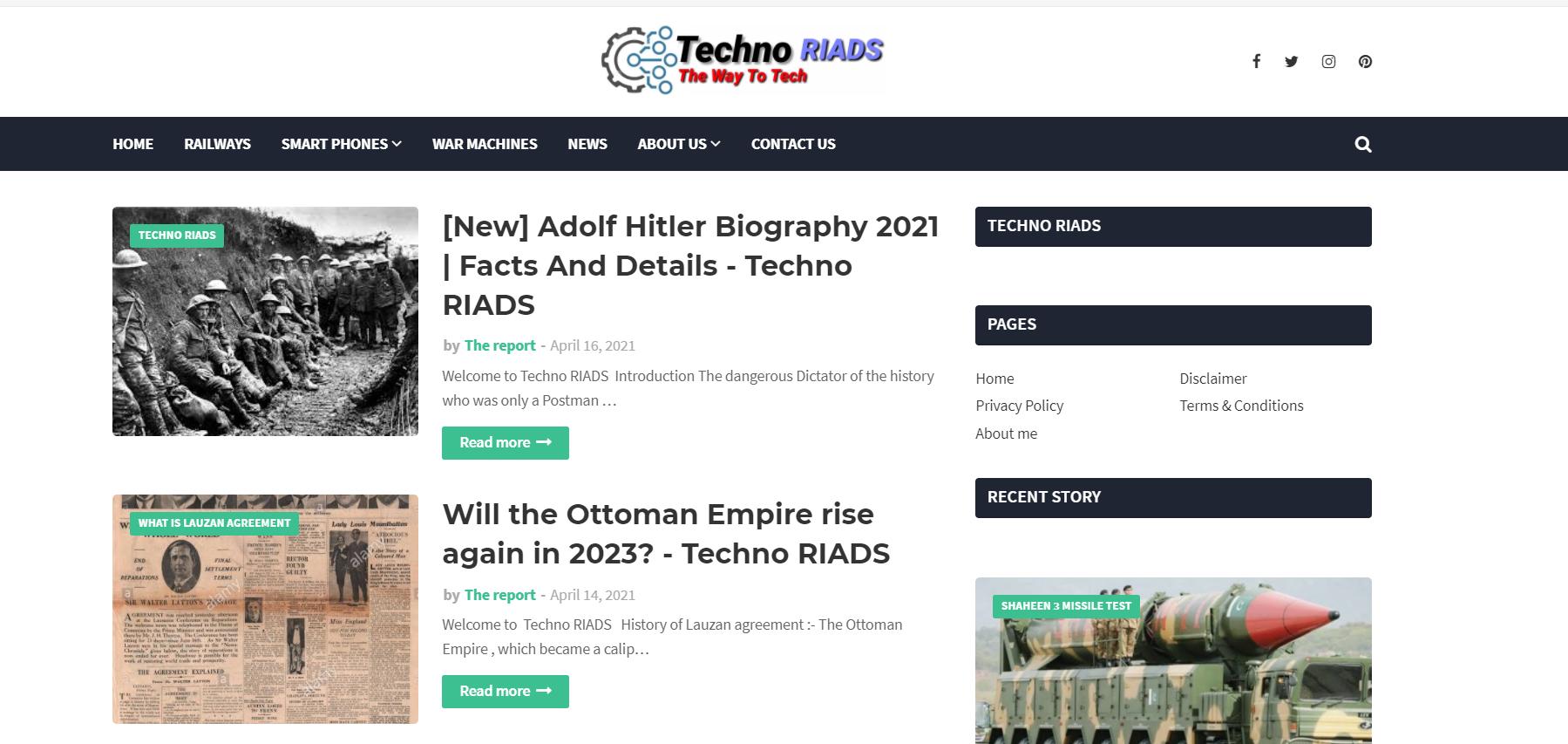Techno RIADS