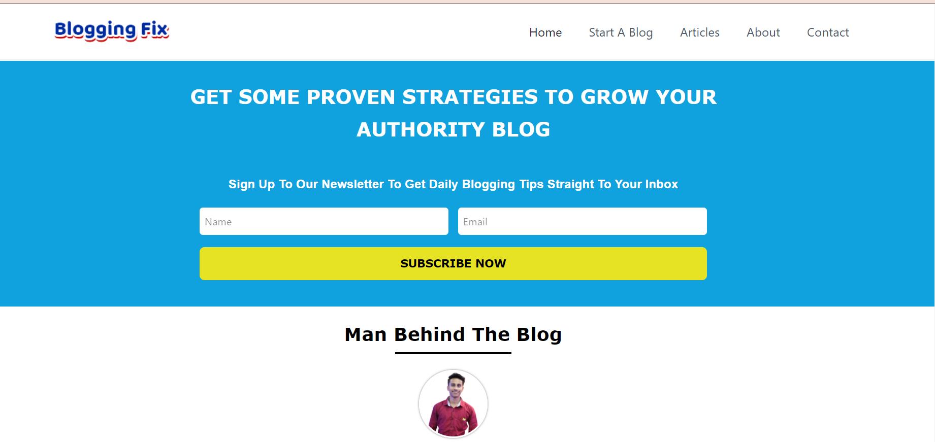 BloggingFix