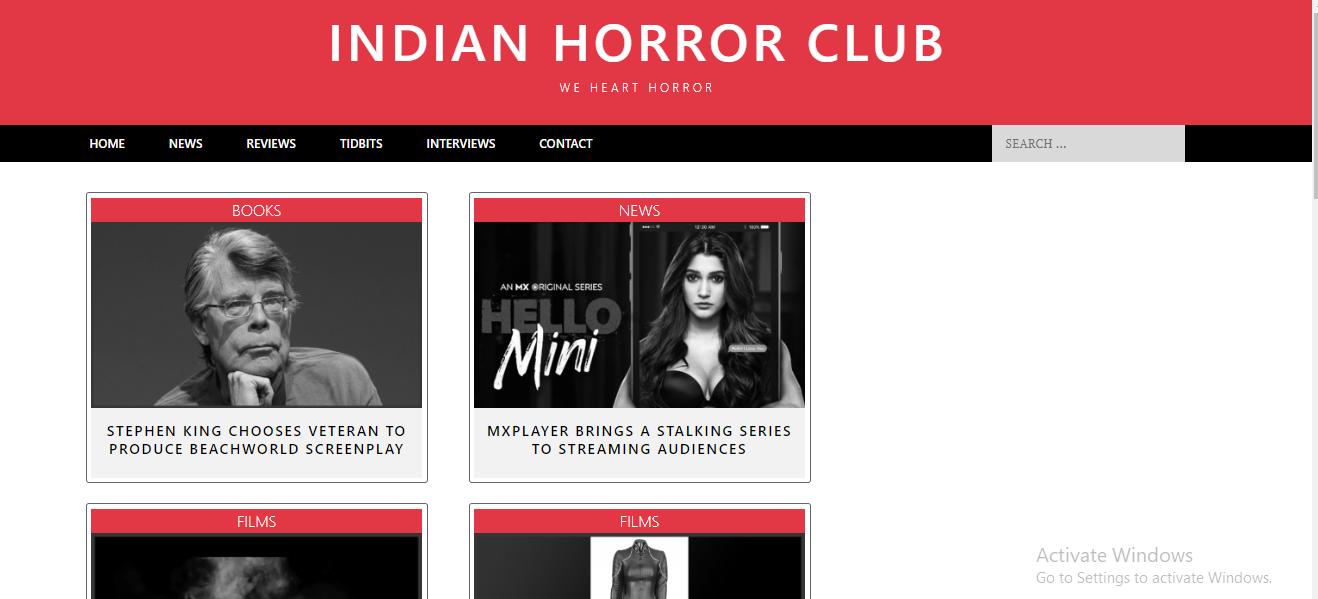 Indian Horror Club