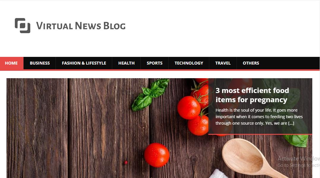 VirtualNewsBlog