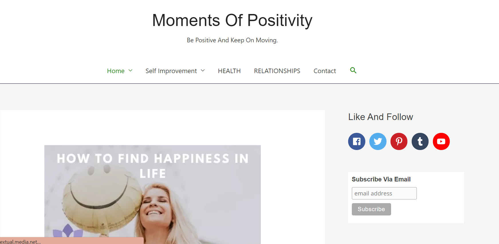 Moments Of Positivity
