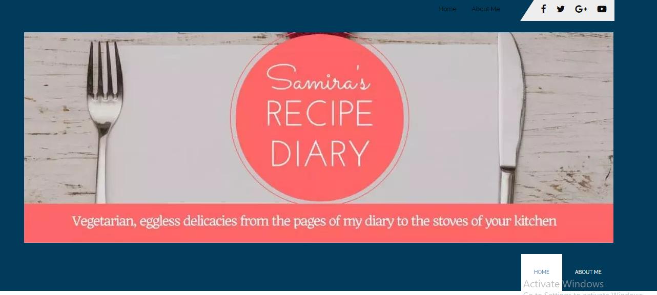 Samira's Recipe Diary