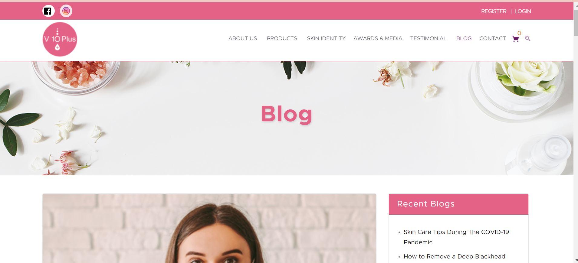 V10Plus Blog