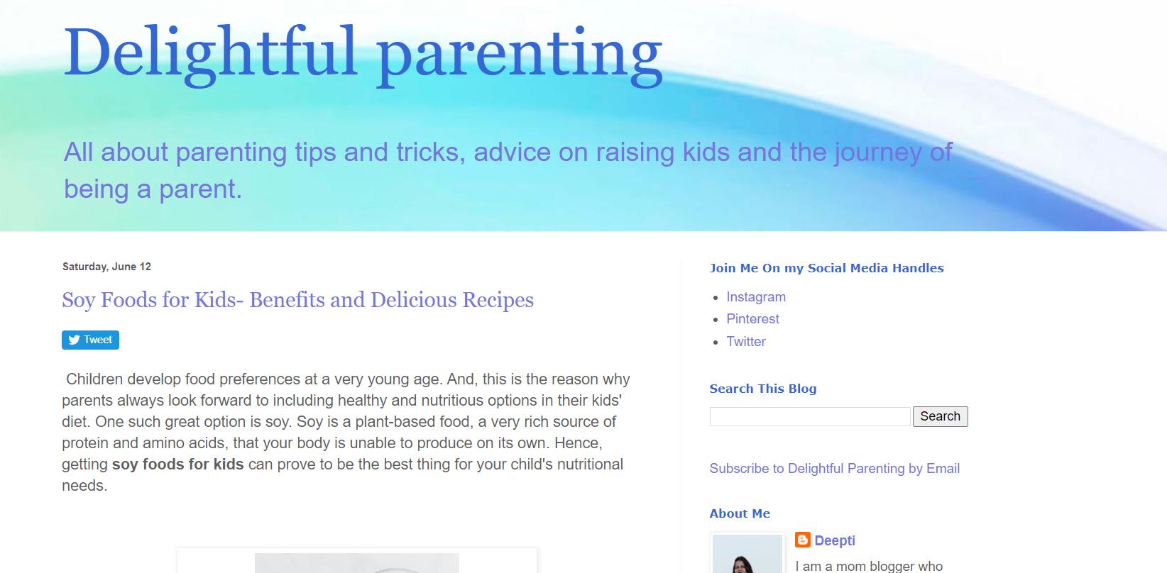 Delightful Parenting
